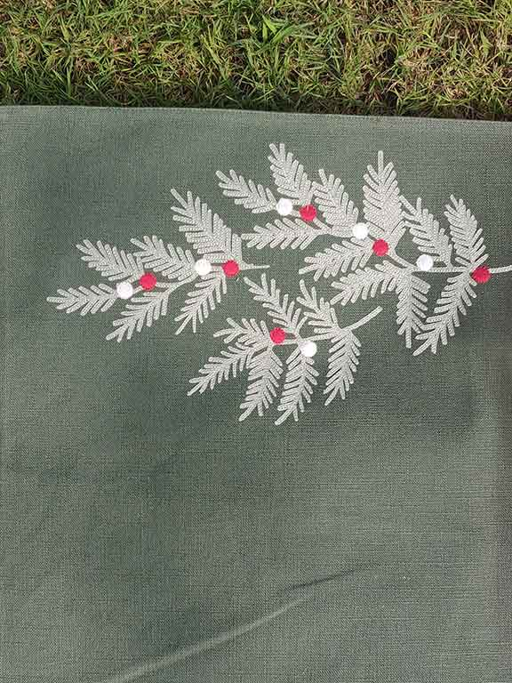 cotton table runners and mats