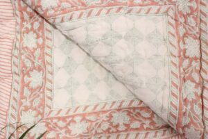 Quilted bedcover