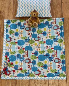 cotton printed bedcover