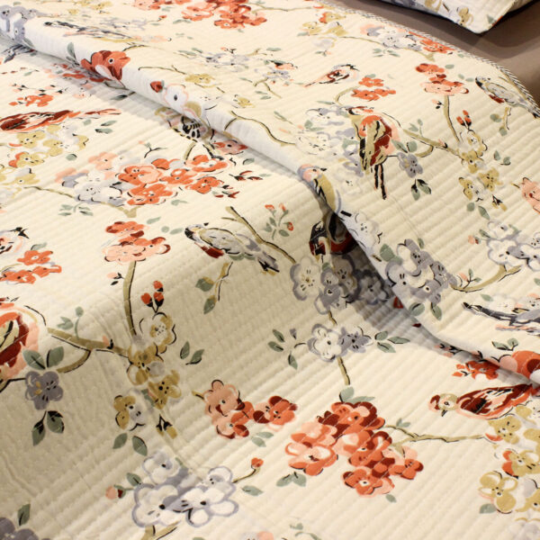quilted bed cover set